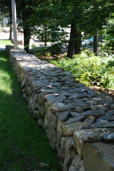 stone work and stone walls